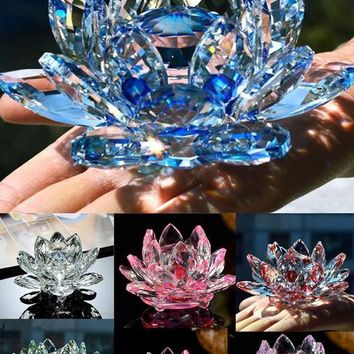 Glass Lotus Flower