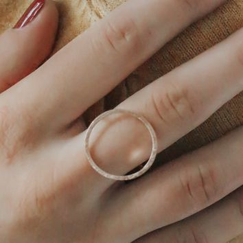 Well Rounded Ring - Rose Gold