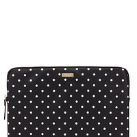 classic nylon mini pavillion dot laptop zip sleeve
