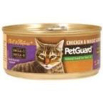 Pet Guard Cat Chicken & Wheat Germ (24x5.5 Oz)