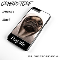 New Design Funny Hilarious Pug Life Parody Fans For Iphone 6S Case UY