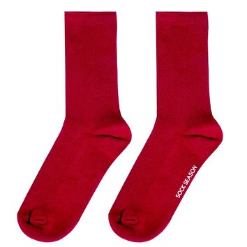 Essential Star Quality Socks | Red
