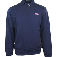 Vineyard Vines Shep Shirt Half Zip in Vineyard Navy