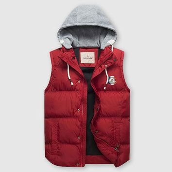 Moncler Fashion Down Vest Cardigan Jacket Coat Hoodie-2