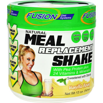 Fusion Diet Systems Meal Replacement Shake - Vanilla Bean - 12 Oz