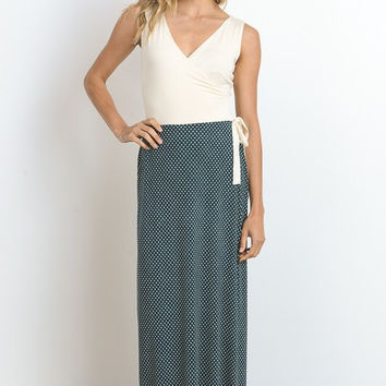 Classic Beauty Maxi Dress - Ivory