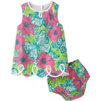 Lilly Pulitzer Baby-Girls Newborn Lilly Loopy Shift Dress