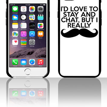 I Really Mustache 5 5s 6 6plus phone cases
