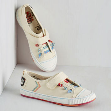 Brighten Your Enlightenment Sneaker by ModCloth