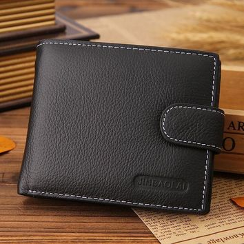 New Mens Slim Leather Bifold Wallet Credit/ID Card Holder Purse Pocket Gifts