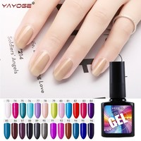 Gel nail polish LED/UV Varnish Manicure 10ml YAYOGE Long Lasting Lacquer Soak off