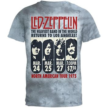 Led Zeppelin - L.A. 1975 Tie Dye T-Shirt