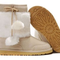 UGG 5899 Classic Short Boots Sand Outlet UK