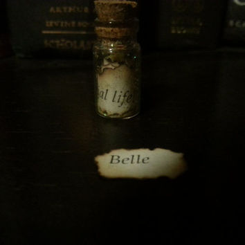 Bottle Necklace, Disney Princess Quotes Series-Belle of Beauty and the Beast