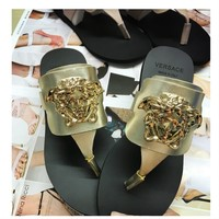 Versace Women Casual Shoes Boots  fashionable casual leather