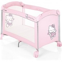 Hello Kitty Travel Cot Dolce Nanna Plus pink - Collection 2014 on Prams.net.
