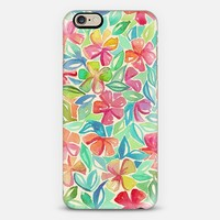 Tropical Floral Watercolor Painting iPhone 6 case by Micklyn Le Feuvre | Casetify