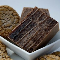 Gingerbread Cookie Goat's Milk Soap - Handmade Cold Process Soap