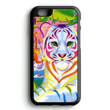 Lisa Frank Neon Tiger and Monkey 90's iPhone 4s iphone 5s iphone 5c iphone 6 Plus Case | iPod Touch 4 iPod Touch 5 Case