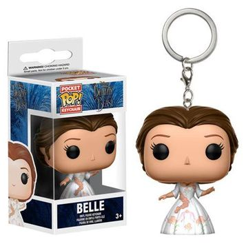 Beauty and the Beast Live Action Belle Celebration Outfit Pocket Pop! Key Chain