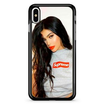 Kylie Jenner Supreme iPhone X Case