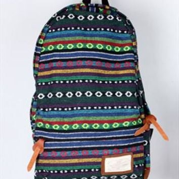 Backpack with Snow Flake Pattern  Embellishment from topsales