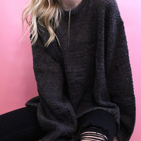 Shannon Charcoal Knit
