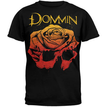 Dommin - Rose Skull Soft T-Shirt