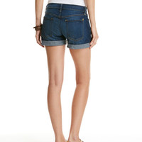 Shop Cuffed Dark Wash Denim Shorts at vineyard vines