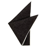 Strauss Indigo Denim Pocket Square