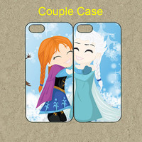 iphone 5s case,iphone 5s cases,iphone 5c case,cool iphone 5c case,cute iphone 5s case,iphone 5 case,5s case--frozen,anna and elsa,in plastic