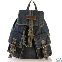 Wholesale Cowboy Dark Blue Jean back pack Manufacturers & Suppliers 2016
