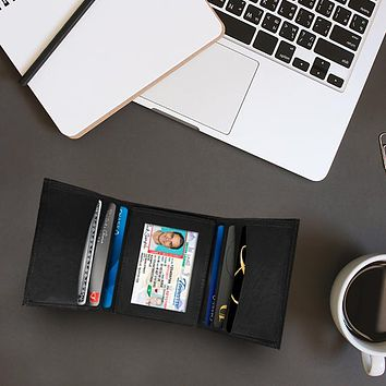 AFONIE -  Leather Trifold Wallet