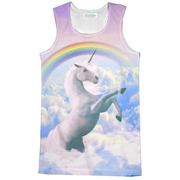 Magical Unicorn Racerback Tank Top
