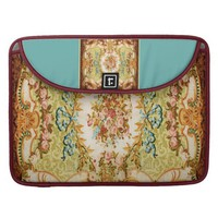 Baroque pattern macbook pro sleeve