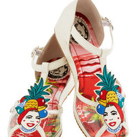 Miss L Fire Fruits Totally Tutti-Fruity Sandal