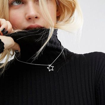Cheap Monday Star Choker at asos.com