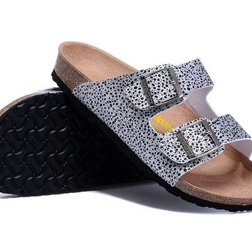 New Birkenstock ladies men's fashion buckle casual slippers unisex sandals