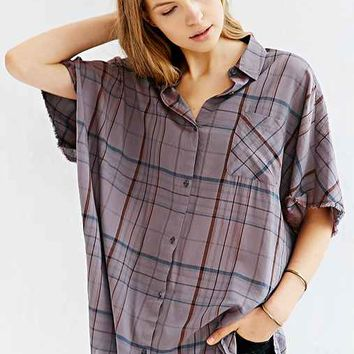 BDG Oversized Button-Down Boy Shirt-