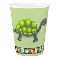 Turtle Paper Cup