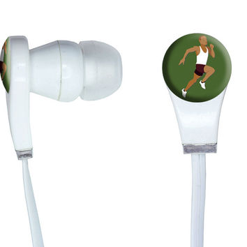 Runner - Running Track Long Distance Cross Country In-Ear Headphones