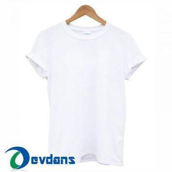 Blank T Shirt For Women and Men Size S - 3XL Blank T Shirts