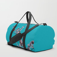 Tree in spring Duffle Bag by VanessaGF