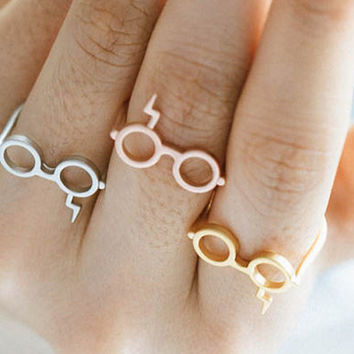 Silver/Rose Gold Plated Harry Potter Ring