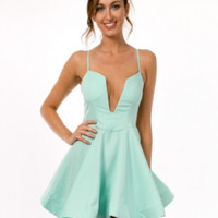 Minty Breeze Skater Dress | The Handmade Hustle