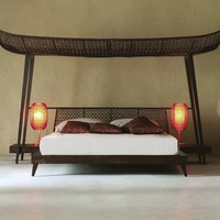 ORIENTAL STYLE CANOPY BED IMA | KENNETH COBONPUE