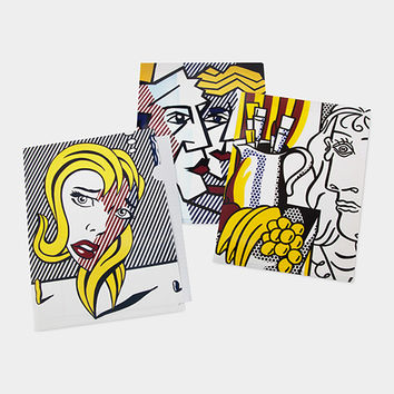 Roy Lichtenstein: Art Movement File Folders