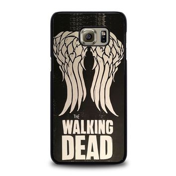 walking dead daryl dixon wings samsung galaxy s6 edge plus case cover  number 1