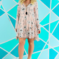 Fooled Around & Fell In Love Dress: Multi