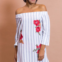 Tropic Off The Shoulder Dress